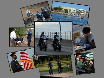 Collage of Police Activities