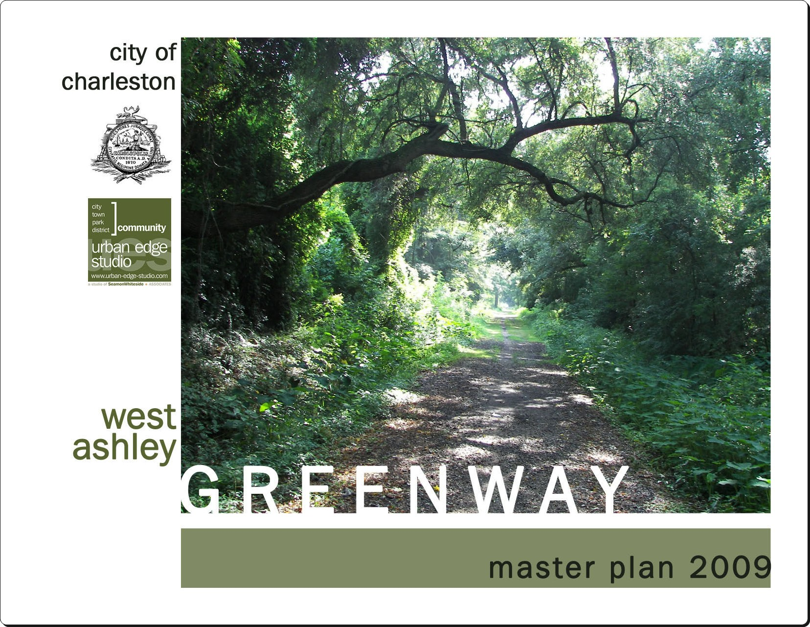 West Ashley Greenway Plan Cover