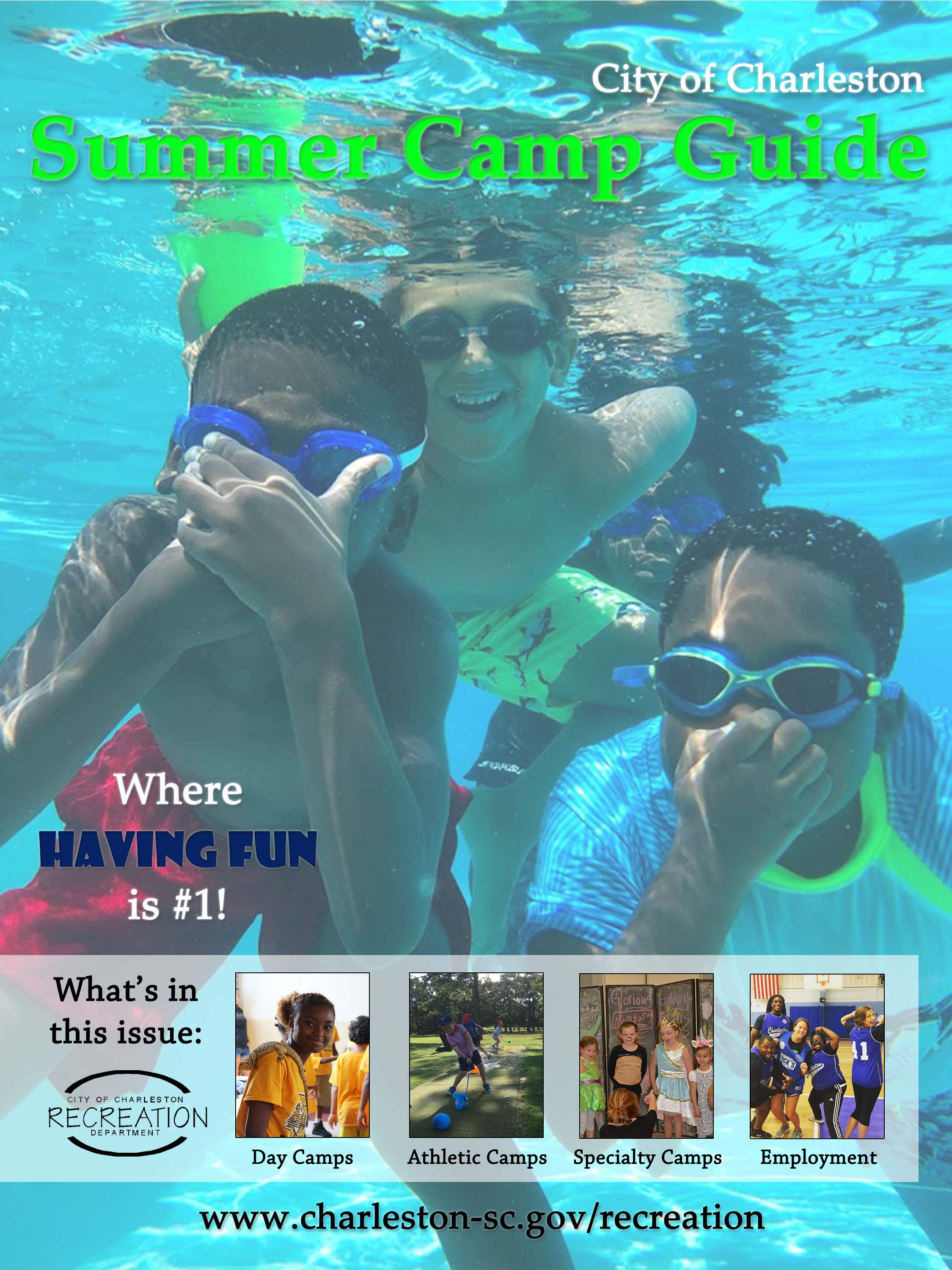 2019 Summer Camp Guide cover