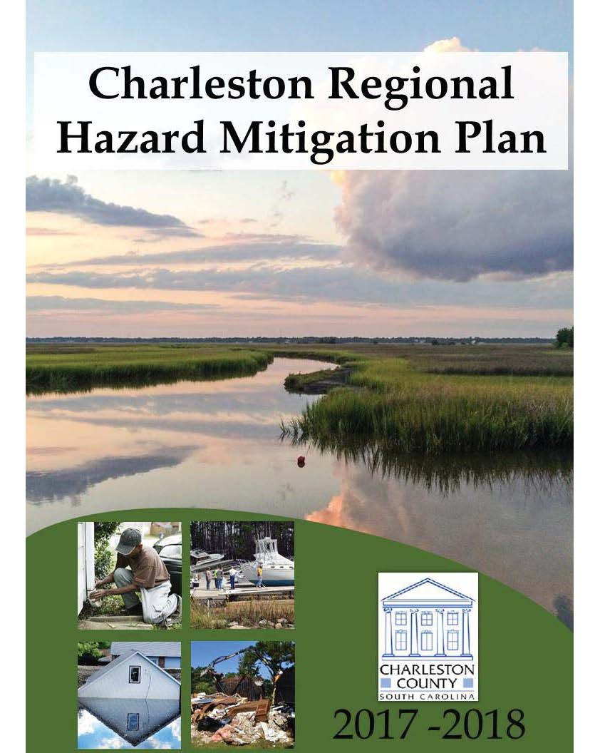 2017 Charleston Regional Hazard Mitigation Plan Cover