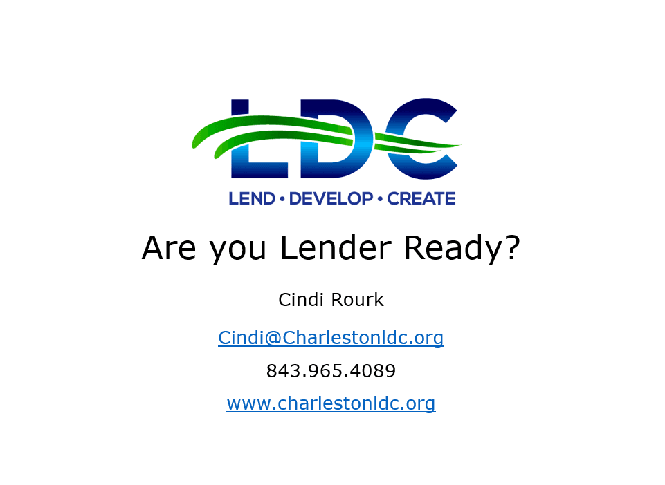 Are You Lender Ready Presentation