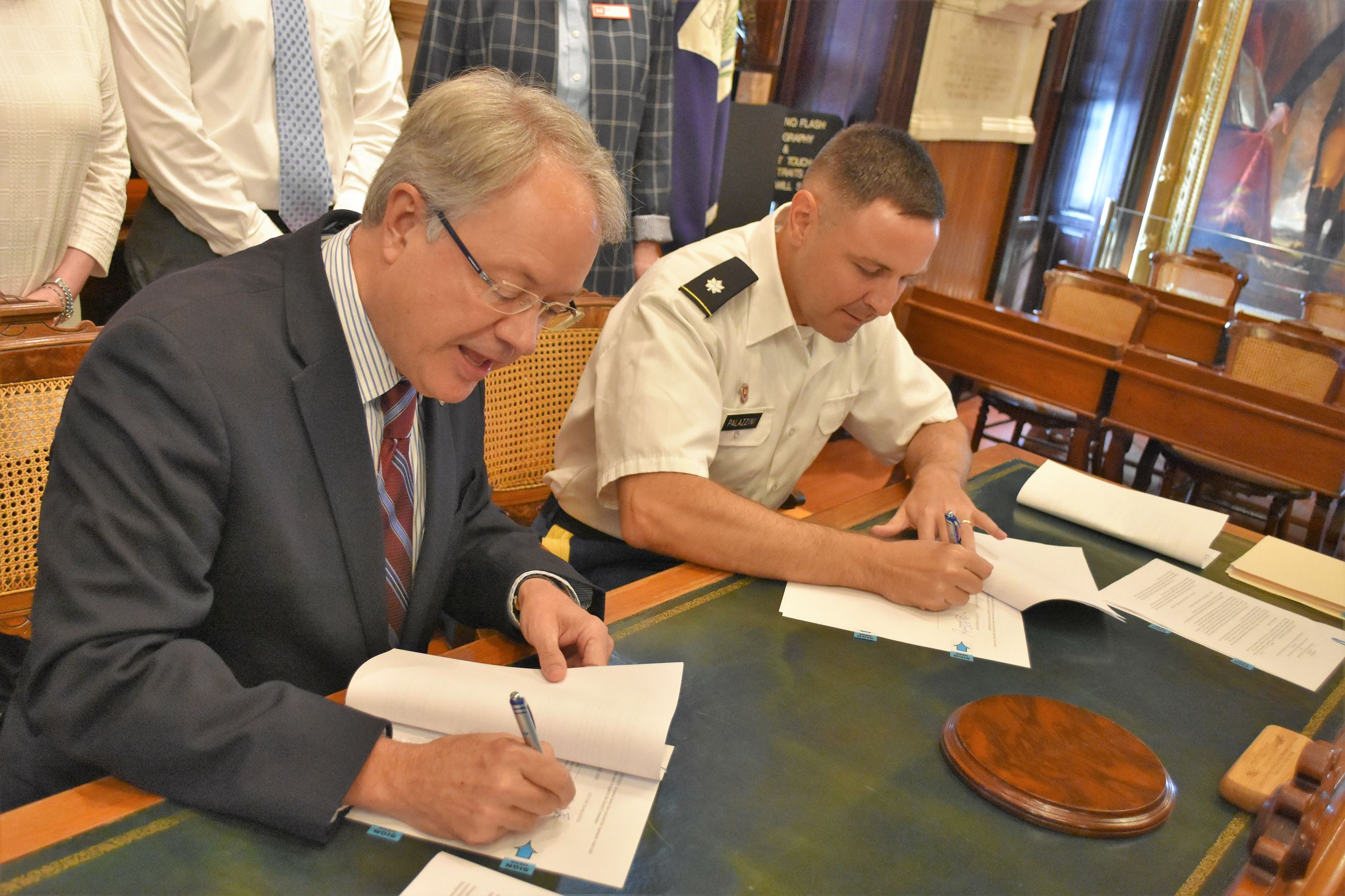 Army Corps Flood Management Study Agreement Signing Fall 2018