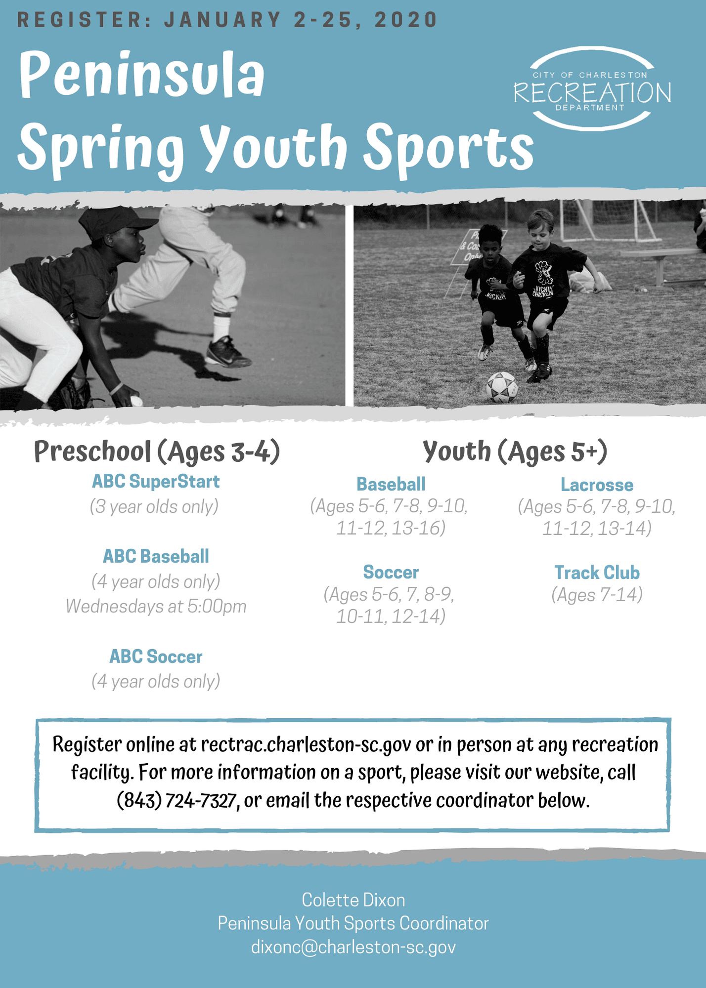 2020 PEN Spring Youth Sports