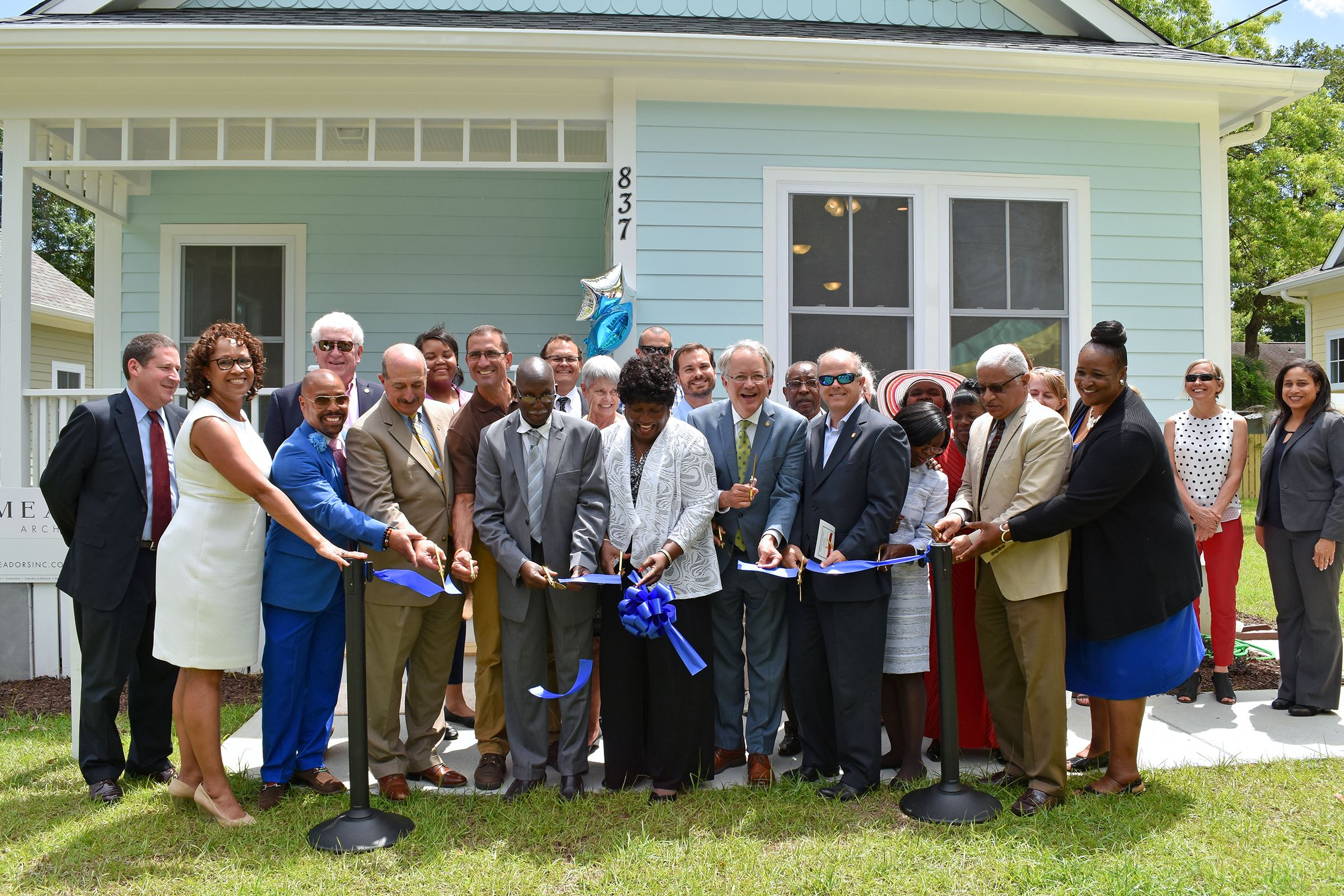 A newly constructed affordable home in west ashley