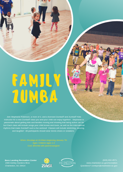 Family Zumba Opens in new window