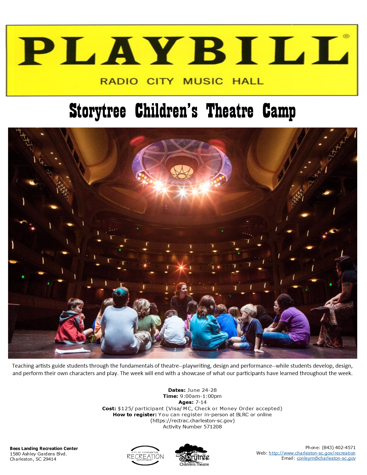 Storytree Theatre Camp 2019