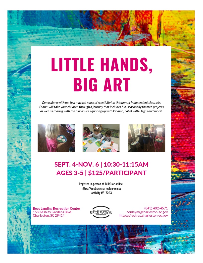 Fall Little Hands, Big Art 2019 Opens in new window
