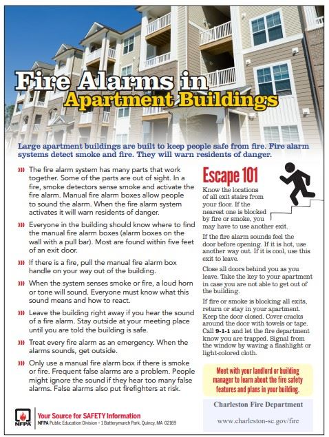Fire Alarms in Apartment Building