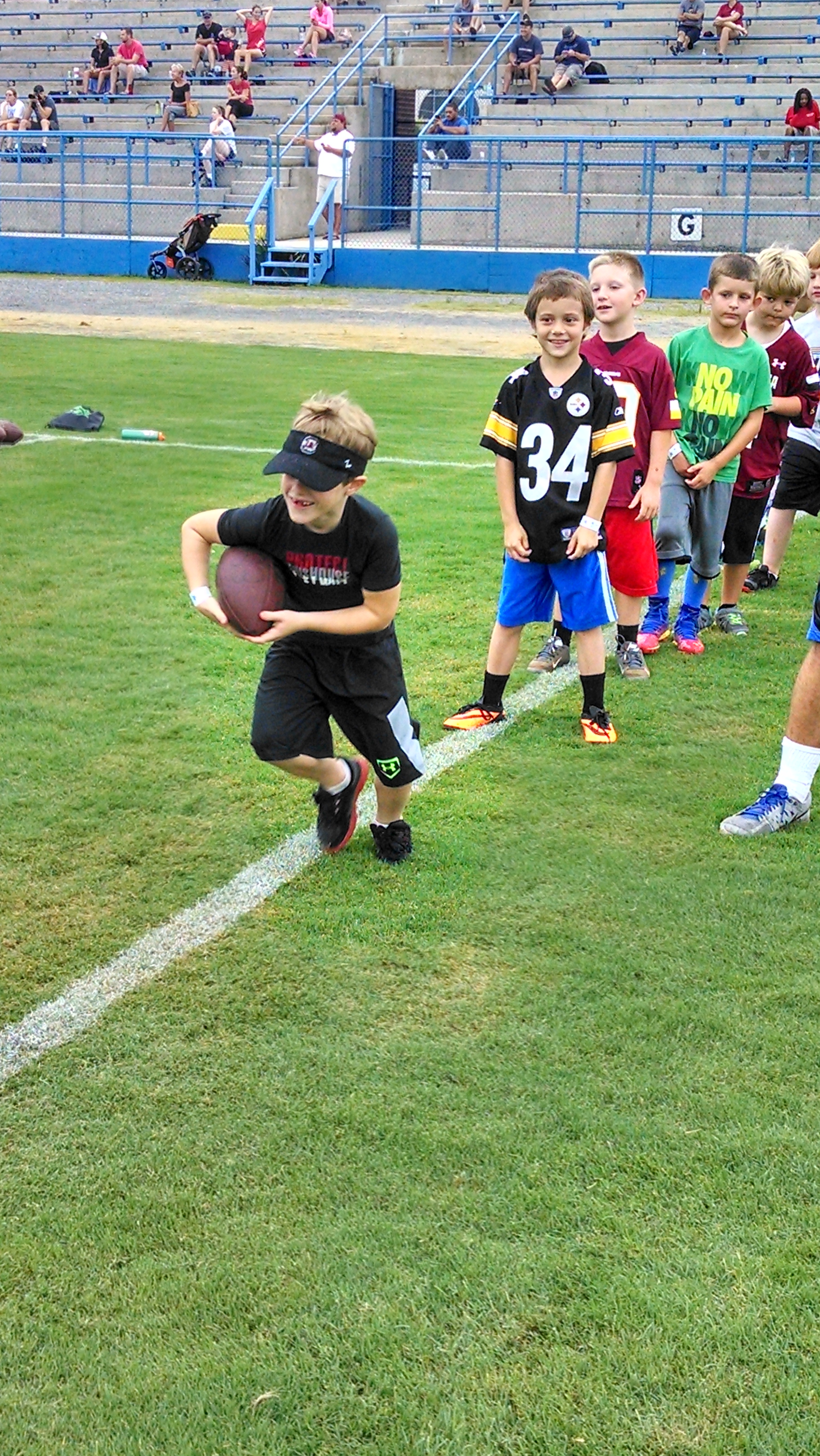 Connor Shaw Football Camp (10)