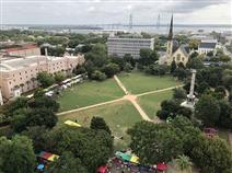 Ariel view of Marion Square