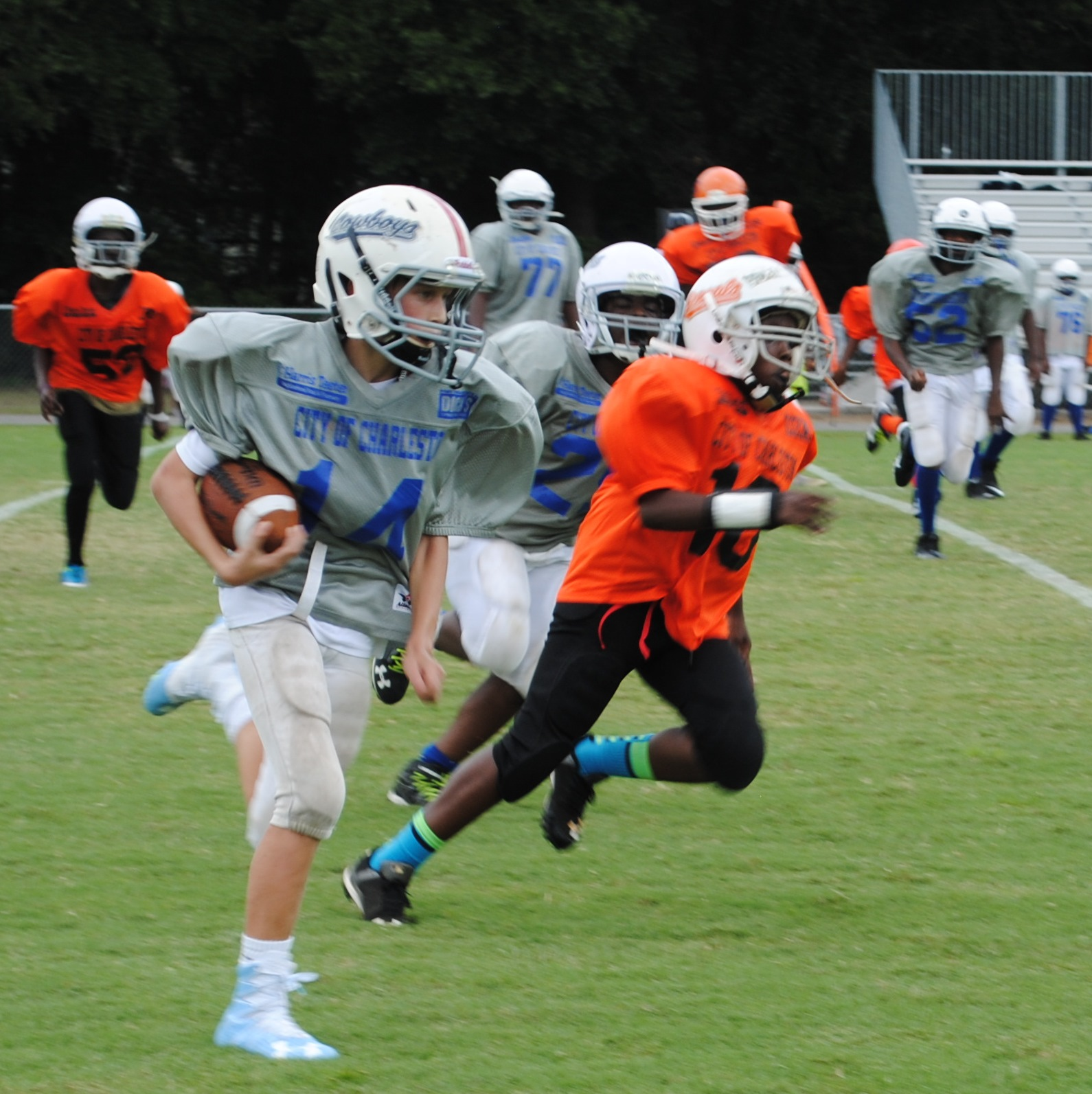 Youth Tackle Football  >> Charleston Sc Official Website Youth Tackle Football