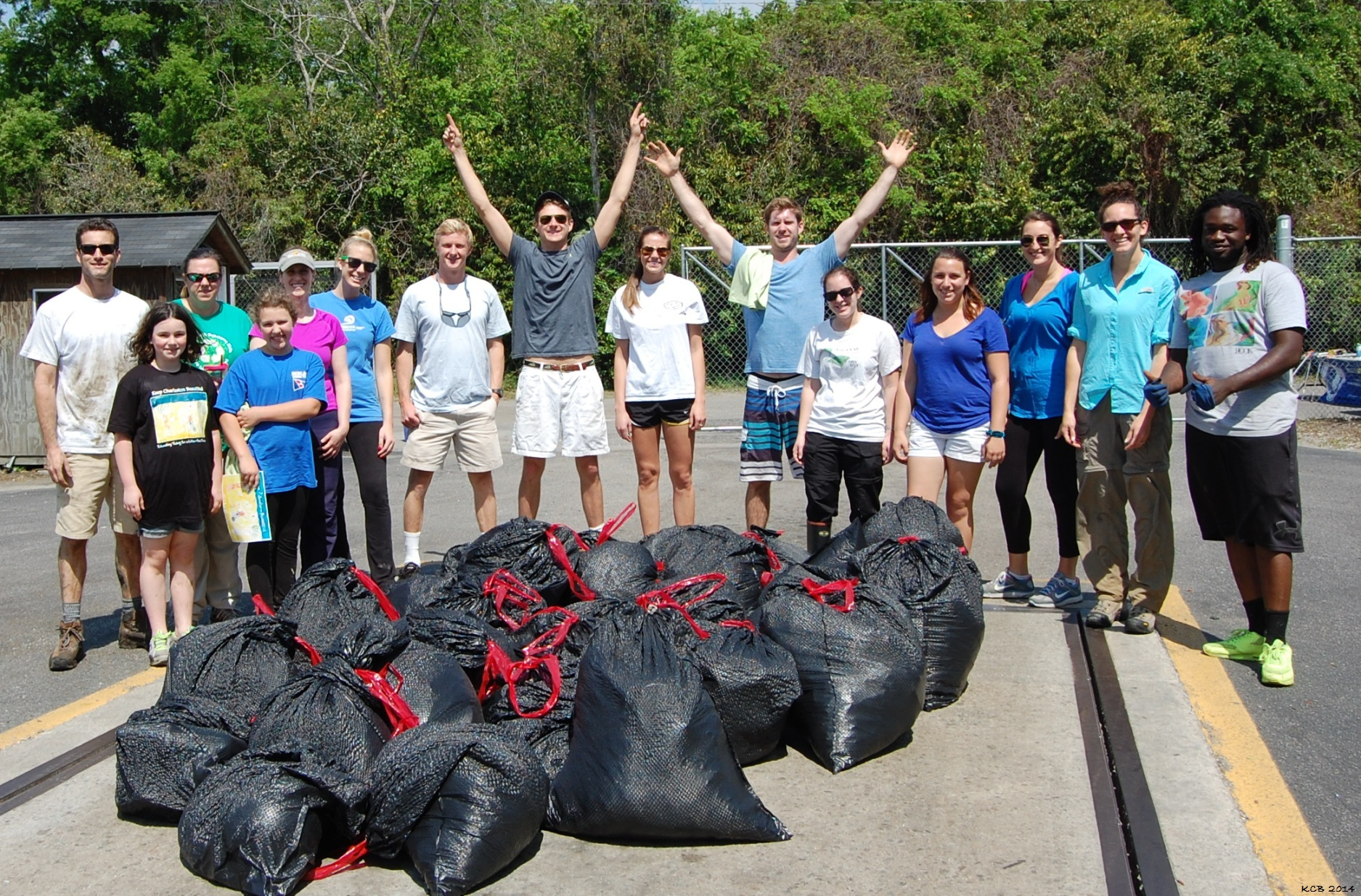 Newmarket Creek Cleanup (2).JPG