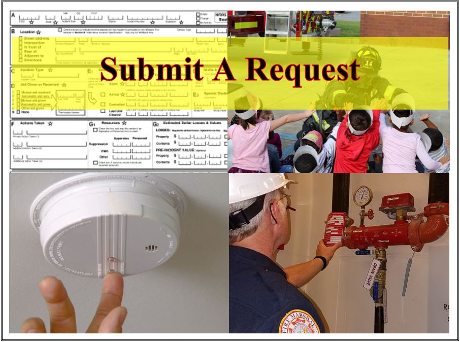 Submit a request to the CFD
